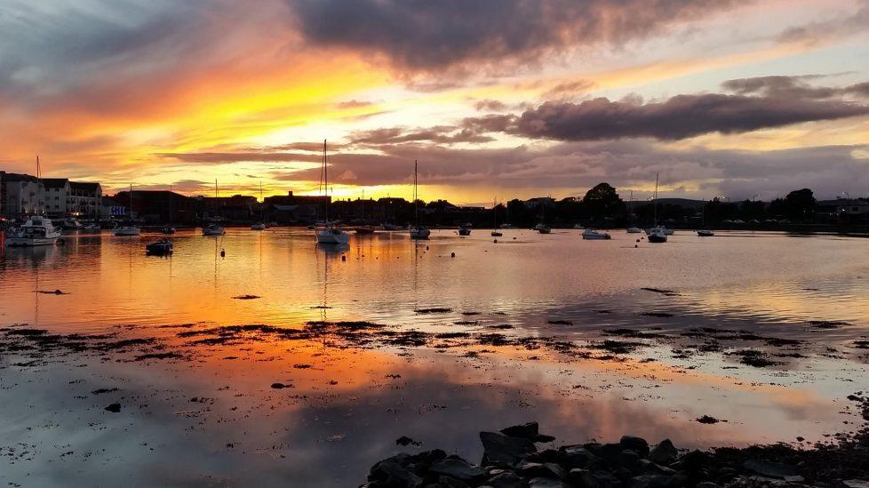 Quay sunset